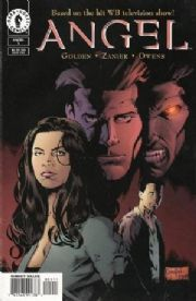 Angel #5 Art Cover (1999) Dark Horse comic book